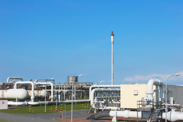Gas storage facility