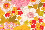 floral flowers fabric texture macro