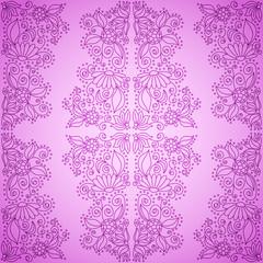 Seamless Vintage Pink Pattern