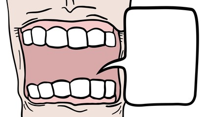 Mouth comic