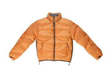 padded coat with zip fastener