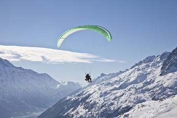 Paraski / Paraglider