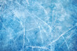 canvas print picture - Ice blue