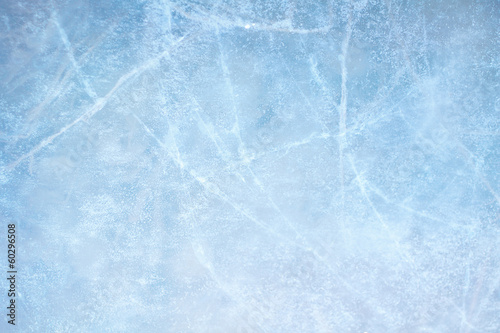 canvas print picture Ice blue