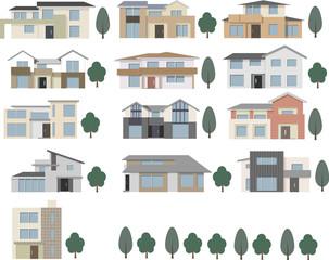 一戸建て住宅バリエーション