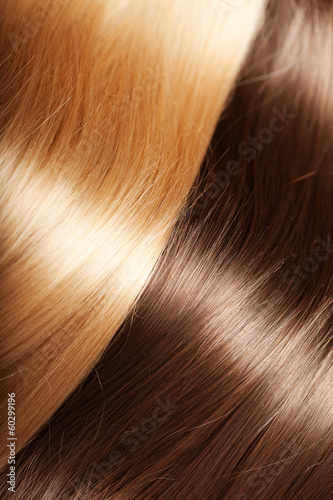 Shiny texture luxurious hair