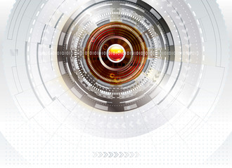 Abstract digital technology concept background.