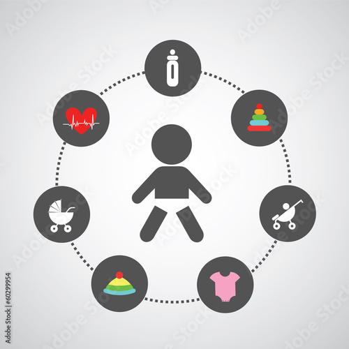 baby symbol set