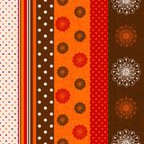 Seamless grungy striped pattern