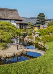 Enyo-tei House at Koraku-en garden in Okayama