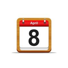 8 de abril.