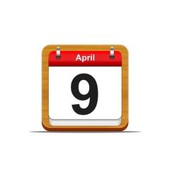 9 de abril.