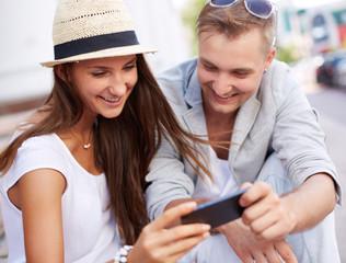 Using mobile gadget