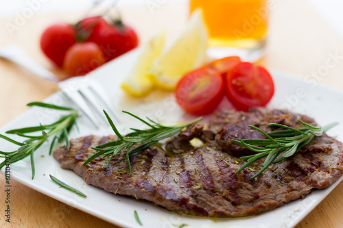 Veal steaks