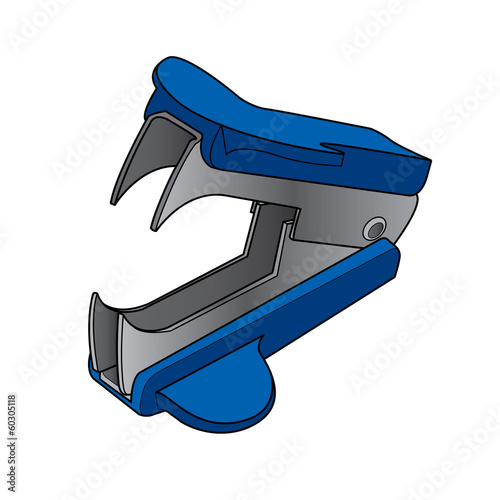 staple removers vector