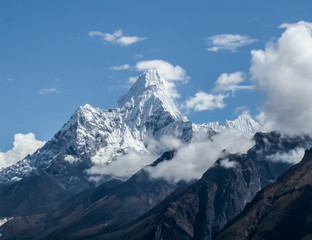 The highest peaks of the world Amadablam