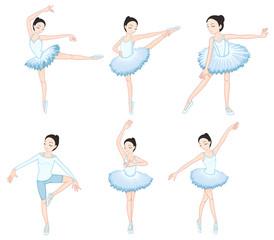 White ballet dancers