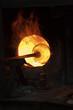 Glass blowing process
