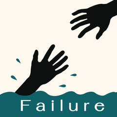 Help from failure