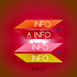 Color bright glossy lines - banner templates