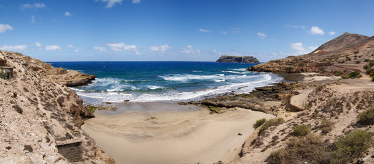 Porto dos Frades and Serra de Fora beach.