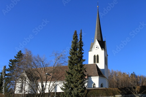 canvas print picture Kirche in Klaus Vorarlberg