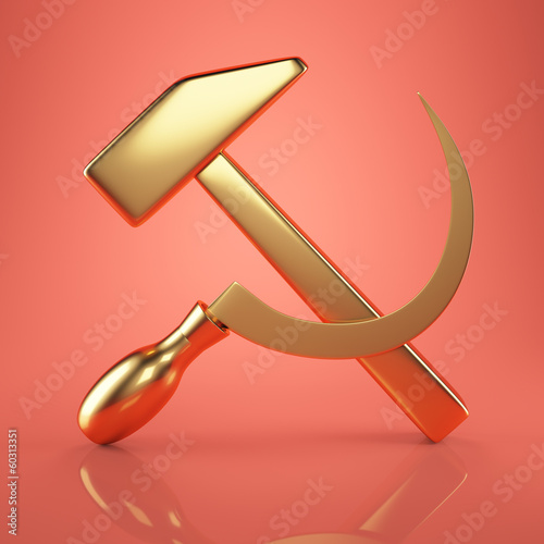 golden USSR emblem