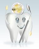 Zahnersatz, Zahnversicherung, Euro freigestellt