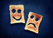 happy sad toast