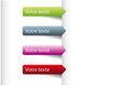 Etiquette -  Marque page Webdesign