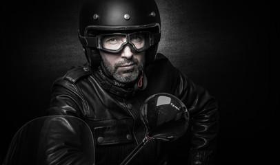 Motard biker