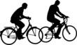 COUPLE DE CYCLISTES