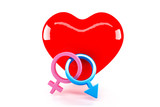 Gender Symbol and love