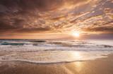 Fototapety Florida Coastal Sunrise reflects its tropical beauty