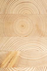 Superfice di legno con cerchi concentrici