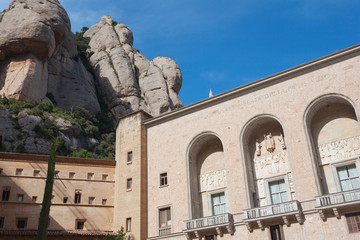 The Benedictine abbey, Santa Maria de Montserrat