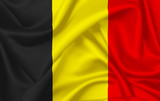 Flag of belgium waving with silky look