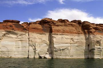 falaises du lac powell, Arizona-Utah