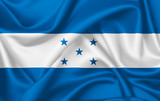 Flag of Honduras waving with silky look