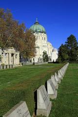 Kriegsgräber im Zentralfriedhof von Wien