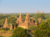 View of ancient temples in Bagan, Myanmar