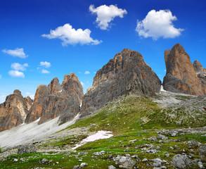 Tre cime di Lavaredo, Dolomite Alps,Italy