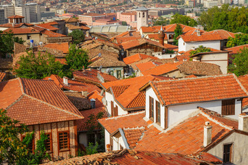 Roofs of old ankara