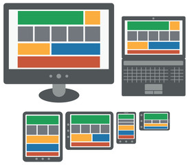 responsive design web application