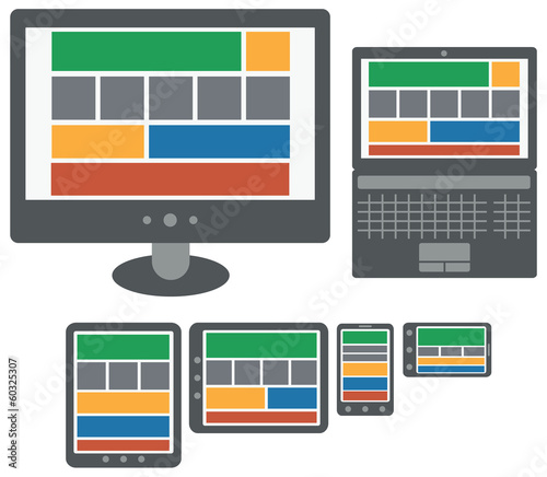 responsive design web application