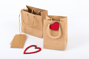 shopping bags for valentine