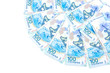 banknotes issued 100 Russian rubles for the Olympics in Sochi in