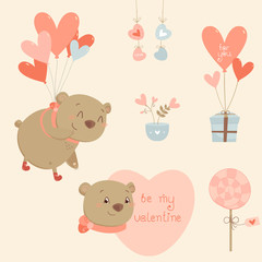 Design Elements collection for Valentines Day