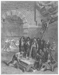 Lambeth Gas Works - Gustave Dore's London: a Pilgrimage