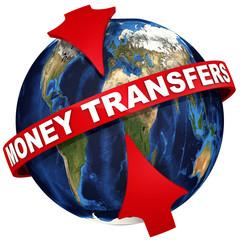 Worldwide money transfers